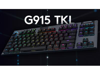 Mechaniczna klawiatura od Logitech - G915 TKL RGB